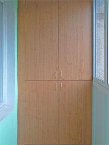 Распашные шкафы из дсп на балкон на заказ от производителя (.