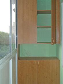 Шкаф-купе на лоджию или балкон - полезная информация.